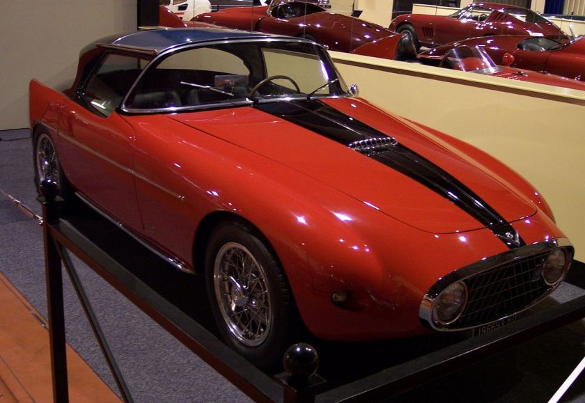 1952 Fiat 8V Demon Rouge designed by Michelotti at Vignale (three made[5])