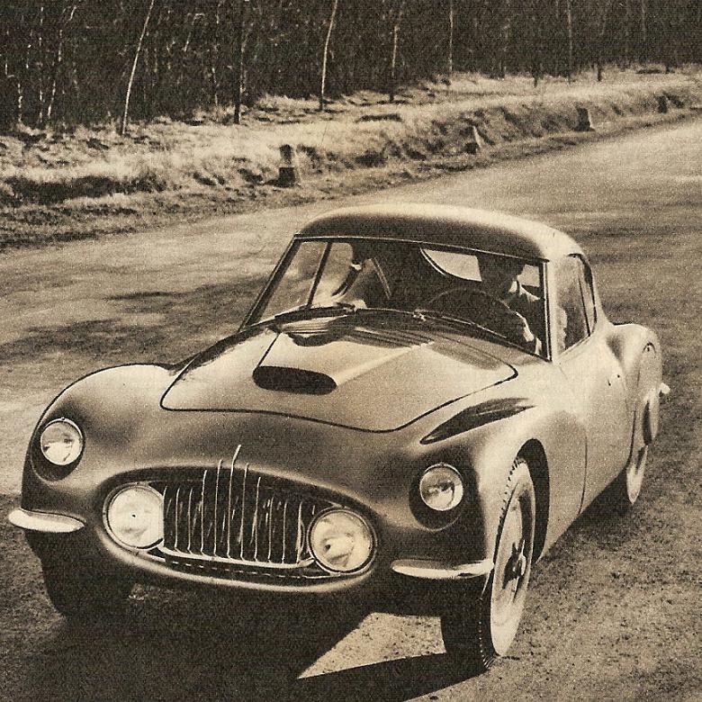 1952 Fiat 8V nella sua prima versione