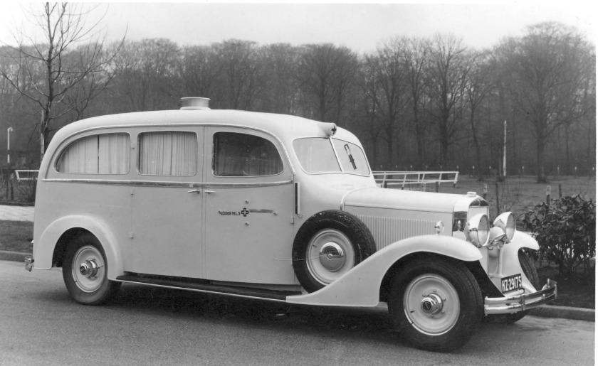 1952 FIAT ambulance