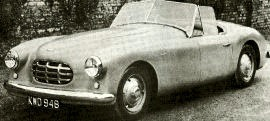 1952 Healey 3-Litre Sports Convertible Series G