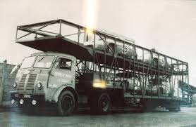 1952 Panhard car transporter