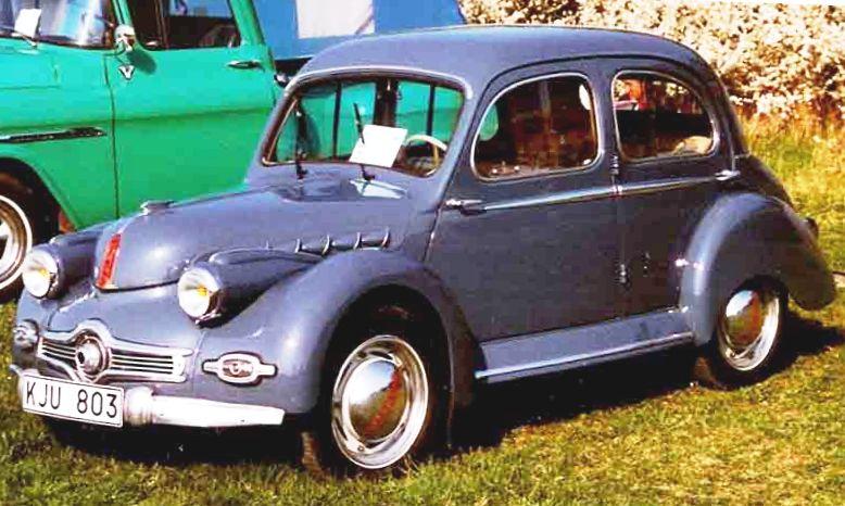1952 Panhard Dyna X 86 Saloon