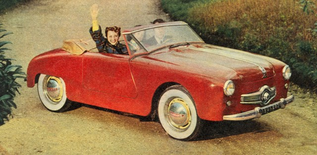1952 Panhard Junior rood a