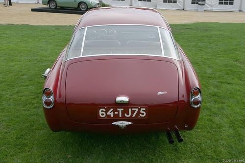 1953 Allemano Aston Martin DB2-4 Coupe c