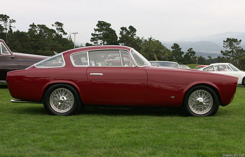1953 Allemano Aston Martin DB2-4 Coupe d