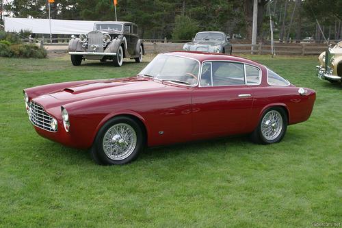 1953 Allemano Aston Martin DB2-4 Coupe e