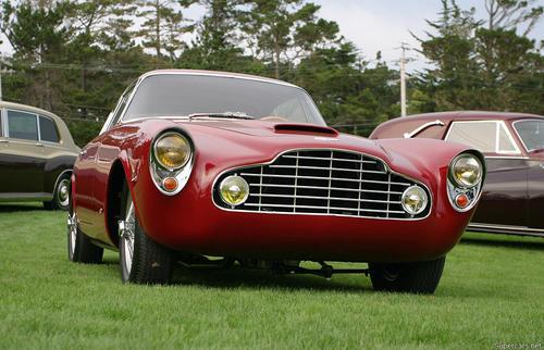 1953 Allemano Aston Martin DB2-4 Coupe h