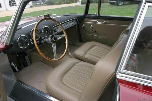 1953 Allemano Aston Martin DB2-4 Coupe k