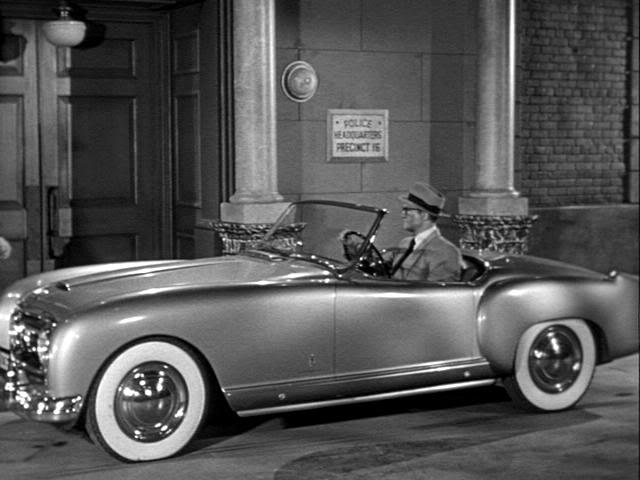 1953 Clark Kent he drove a Nash Healey