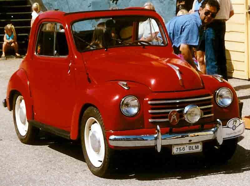 1953 FIAT 500C Convertible
