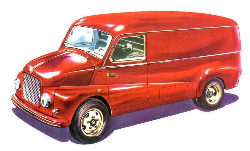 1953 Fiat 615 N1 Kastenwagen