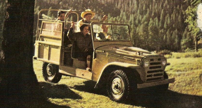 1953 Fiat Campagnola (con motore diesel)
