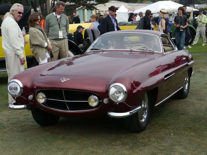 1953 Ghia Supersonic