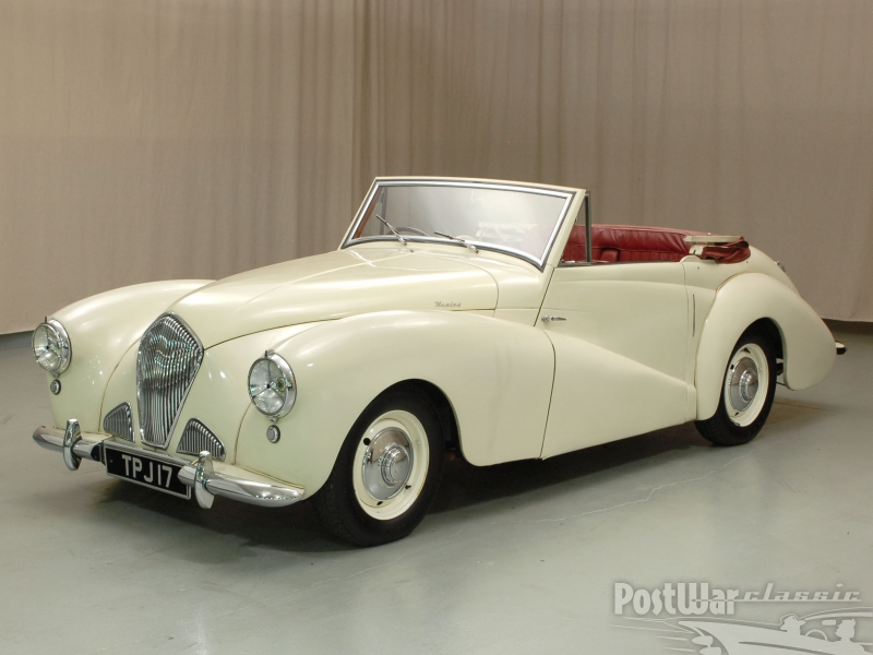 1953 Healey Abbott Drop head