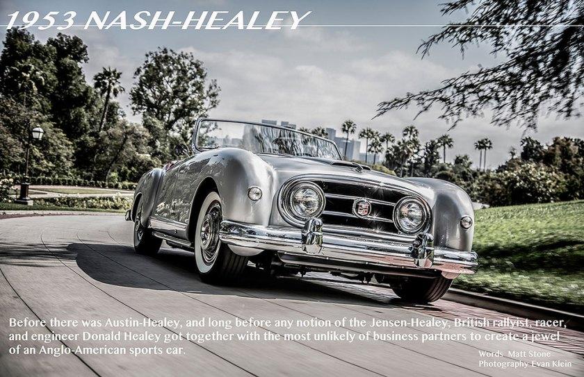 1953 nash healey ad