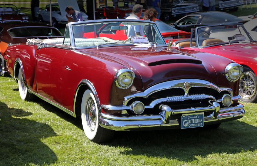 1953 Packard Caribbean convertible, Water Mill