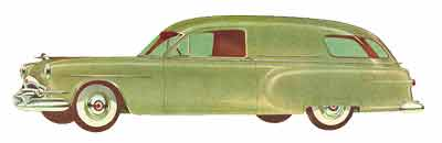 1953 Packard Henney-Junior Ambulance nr-400