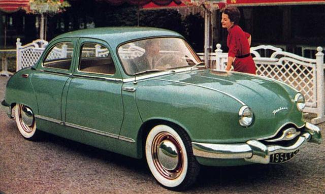 1953 Panhard Dyna Z1