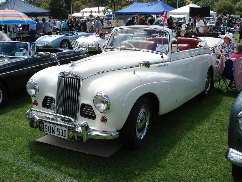 1953 Sunbeam-Talbot 90 MkIIA Drophead Coupe