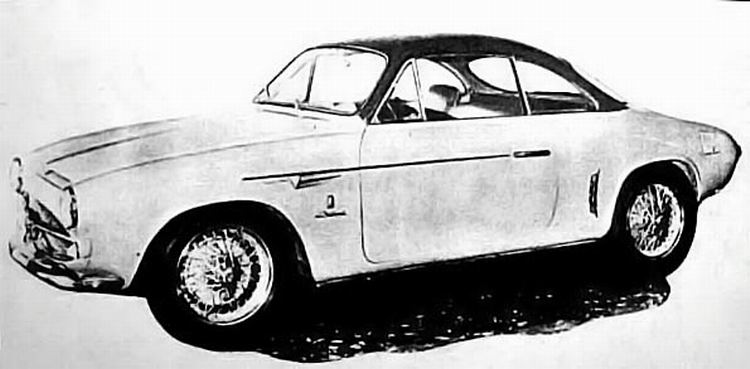 1954 Allemano fiat 1100 103tv coupe 2