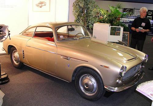 1954 Allemano fiat 1100 103tv coupe a