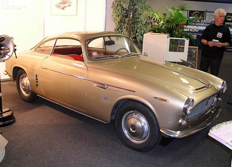 1954 Fiat 1100-103 TV - Sport coupé body by Allemano
