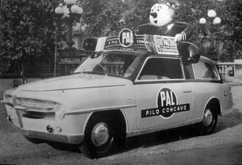 1954 fiat 1100 giardiniera pubblicitaria
