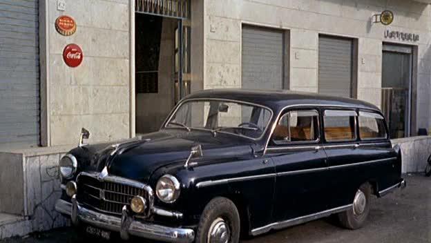 1954 Fiat 1400 A Autofunebre Carro [101A]