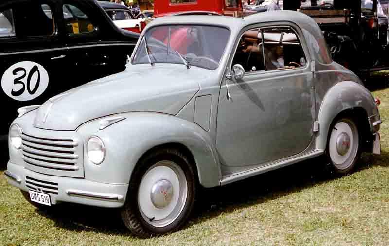 1954 FIAT 500C Convertible 2