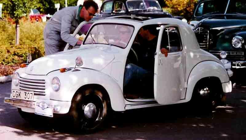 1954 FIAT 500C Convertible