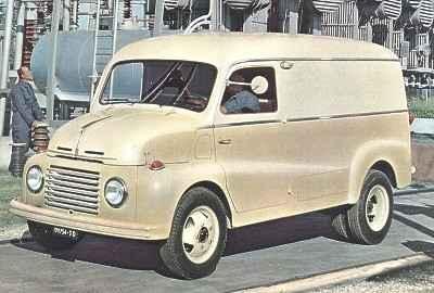 1954 Fiat 615 furgonato