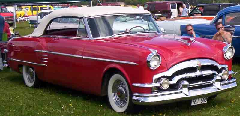 1954 Packard Convertible Modell 5479