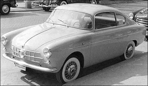 1955 Allemano Fiat 600 Coupe