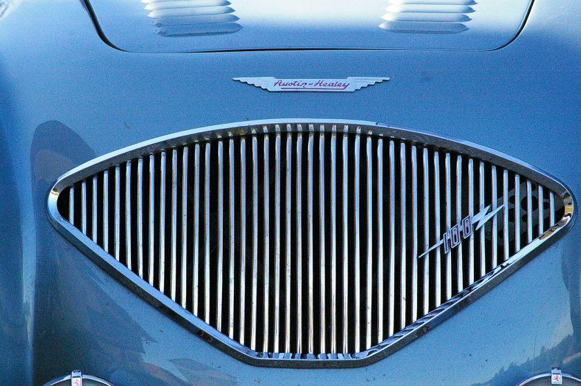 1955 Austin Healey 100 grille