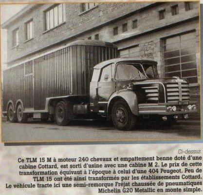 1955 Berliet TLM 15 g