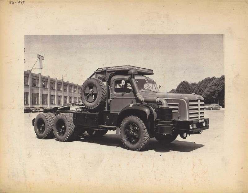 1955 Berliet tractor