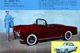 1955 Fiat 1100 TV