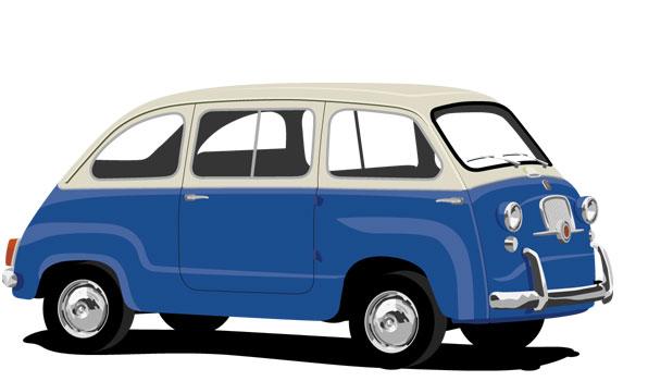 1955 Fiat Multipla eerste generatie