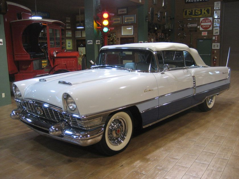 1955 Packard Caribbean Convertable Front Left