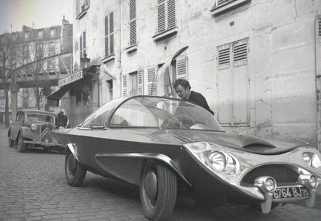 1955 Panhard Rafale Carrosserie Futuriste POTIER