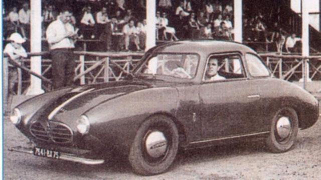 1955 Panhard SERA Coupe Rafale