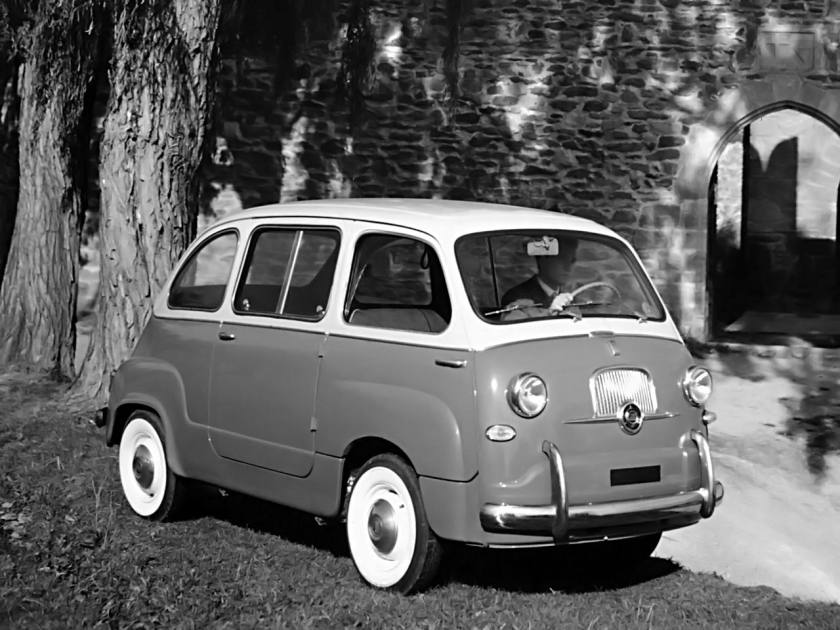 1956-65 Fiat 600 Multipla a
