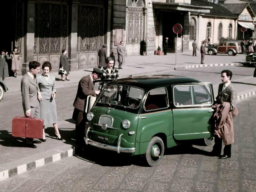 1956-65 Fiat 600 Multipla Taxi