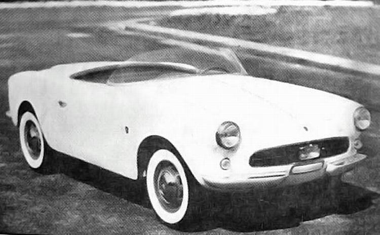 1956 Allemano fiat 600 spider