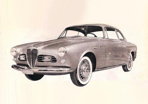 1956 Allemano Lancia Appia Coupe