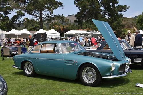 1956 Allemano Maserati A6G 2000 green 15