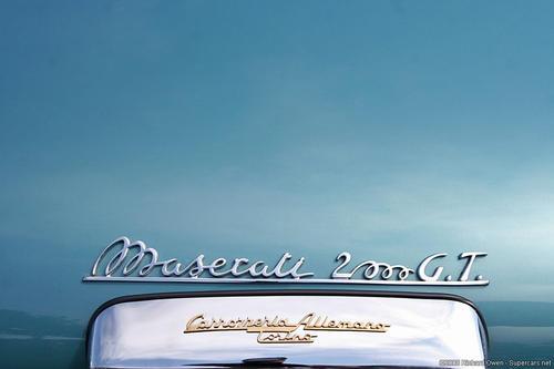 1956 Allemano Maserati A6G 2000 green 19