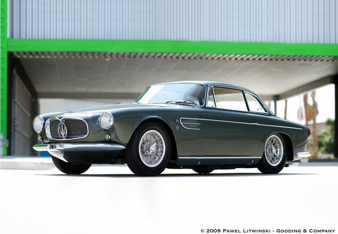 1956 Allemano Maserati A6G-54 Berlinetta a