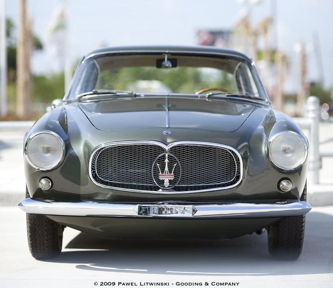 1956 Allemano Maserati A6G-54 Berlinetta c