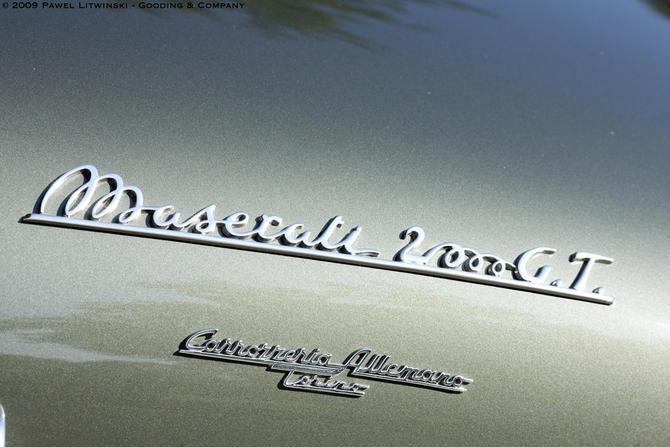 1956 Allemano Maserati A6G-54 Berlinetta i